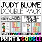 Judy Blume Bundle: Tales of a Fourth Grade Nothing AND Fre