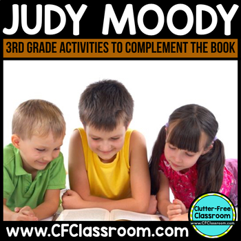 Judy Moody: Reader Response Activities, Printables and More