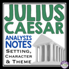 Julius Caesar Notes/Information