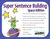 Jumbled Sentence Building-Space Edition