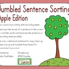 Jumbled Sentence Sorting-Apple Edition