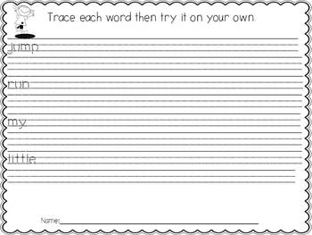 A Sight Word Reader for Early Learners: Jump and Run