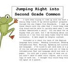 Jumping into the Second Grade ELA CC Standards