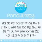 Jumpy Font - Commercial Use Font