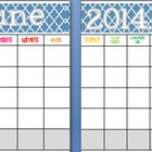 June 2014 Editable/Customizable Curriculum Planning Calendar