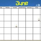 June Calendar for ActivInpsire