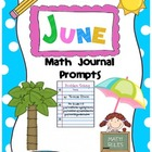 June Math Journal Prompts