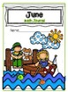 June Math Journal for School or Home