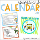 June SMARTBoard Calendar ***Common Core Aligned***