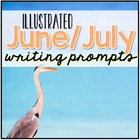 June and July Writing Journal Prompts