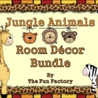 Jungle Animal Room Décor Bundle