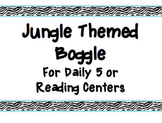 Jungle Theme Boggle Game