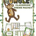 Jungle Classroom Theme Packet- Back to School