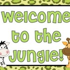 Jungle Classroom Theme: Welcome to the Jungle!