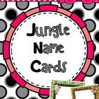 Jungle Name Cards