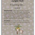 Jungle Roll Common Core Math Game