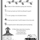 Jungle - Rules of the Jungle B&W Parent Letter