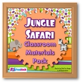 Jungle Safari Animals Themed Classroom Materials Pack
