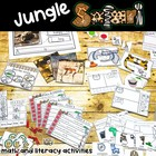 Jungle Safari Math and Literacy Fun