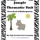 Jungle Thematic Unit (letter J)