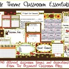 Jungle Theme Classroom Essentials Teacher Set