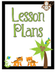 Jungle Theme Classroom Printables