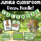 Jungle Theme Classroom Start-Up Bundle ~ Over 220 Pages