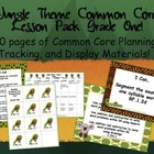 Jungle Theme Grade One Common Core Lesson Planning Pack