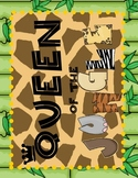 Jungle Theme - King/Queen of the Jungle Signs