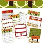 Jungle Themed 2013-2014 Personal Planning Calendar