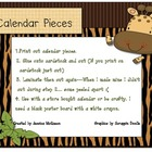 Jungle Themed Calendar Pieces