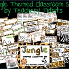 Jungle Themed Classroom Set