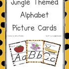 Jungle Themed D&#039; Nealian Alphabet Cards  