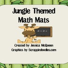 Jungle Themed Math Mats