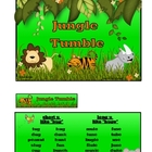 Jungle Tumble: short and long u game