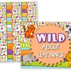 Jungle Wild About Learning Bulletin Board Set