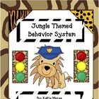 Jungle theme stoplight behavior management system
