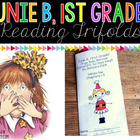 Junie B. First Grader Series Reading Trifolds