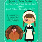 Junie B., First Grader Turkeys We Have Loved and Eaten: A