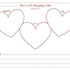 Junie B. and the Mushy Gushy Valentine Summary Graphic Organizer