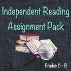 Novel Study / Book Report Assignment Formats for Independe