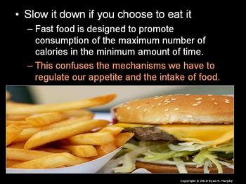 Junk Food / Fast Food Dangers / Obesity / Eating Disorders