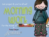 Just Project & You're ALL set! {September Morning Work}