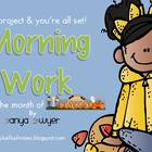 Just Project & You're ALL Set! {October Morning Work}