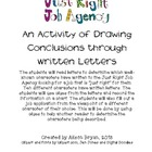 Just Right Job Agency-An Activity of Drawing Conclusions t