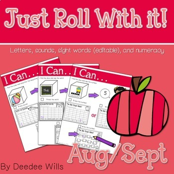 Just Roll With It: August/September-editable