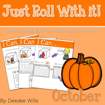 Just Roll With It: October-editable