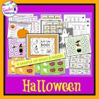 Just Say BOO (Halloween Literacy and Math Activities)