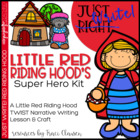 Just Write! Little Red Riding Hood's Super Hero Kit