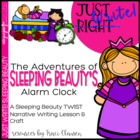 Just Write! The Adventures of Sleeping Beauty's Alarm Clock